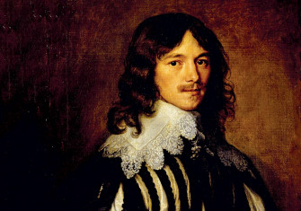Lucius Cary, 2nd Viscount Falkland, by Anthony Van Dyck, 1641. Collection of the Duke of Devonshire, Chatsworth House, Derbyshire/Bridgeman Images
