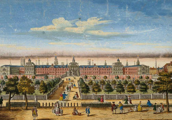 The Hospital of Bethlem [Bedlam] at Moorfields, London, c. 1771. Wellcome Collection