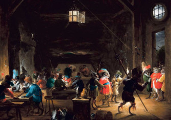Guardroom with Monkeys, by David Teniers the Younger, c.1633. Private Collection/Wikimedia/Creative Commons.