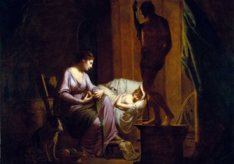 Penelope Unravelling the Shroud, by Joseph Wright of Derby, 1783-84, the J. Paul Getty Museum, Los Angeles © akg-images.