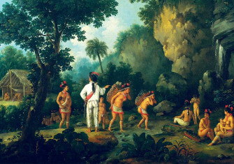 The Slave Hunter,  by Jean-Baptiste  Debret, 19th century © Bridgeman Images.