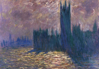 Reflections on the Thames, by Claude Monet, 1905. Musée Marmottan Monet, Paris/Bridgeman Images.