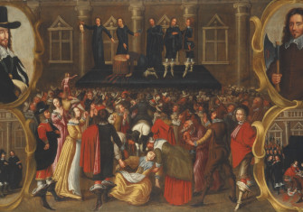 The Execution of Charles I, c.1649.
