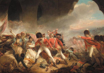 The Last Effort and Fall of Tipu Sultan by Henry Singleton, c. 1800.