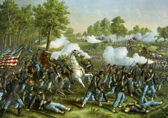 Battle of Wilson's Creek, 10th August 10, 1861 (c.1893)
