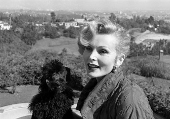 Storied life: Zsa Zsa Gabor with her poodle, Farouk, c.1960 © Ed Clark/LIFE/Getty Images