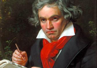 Portrait of Beethoven by Joseph Karl Stieler, 1820