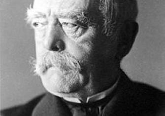 Otto von Bismarck in August 1890
