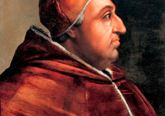 Rodrigo Borgia as Pope Alexander VI