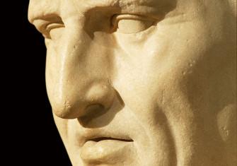 Bust of Marcus Tullius Cicero, first century AD