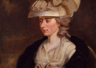Portrait of Frances d'Arblay 'Fanny Burney' (1752-1840), British writer