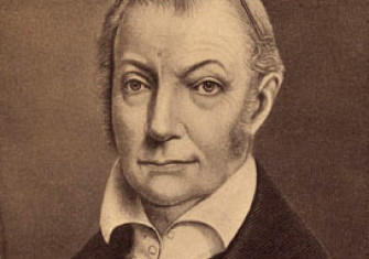 A portrait of Aaron Burr, early 1800s