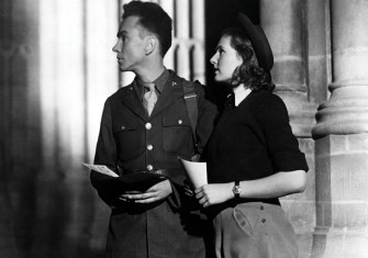 A good job: John Sweet as Bob Johnson and Sheila Sim as Alison Smith in A Canterbury Tale (1944).