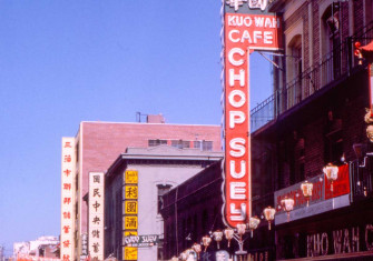 Jackson Street, San Francisco's Chinatown, 1962 © Bridgeman Images
