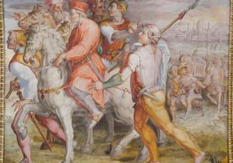 Cosimo di Medici goes into exile