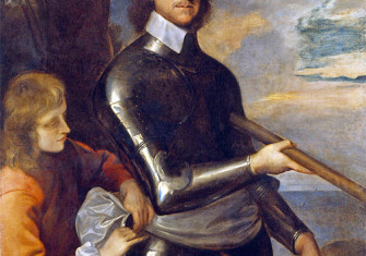 Oliver Cromwell c. 1649 by Robert Walker
