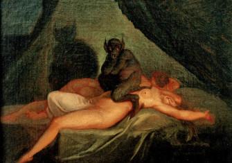 'Nightmare', by Nikolaj Abraham Abildgaard (1800)