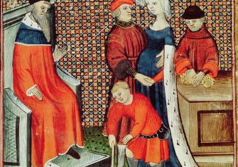 Illustration from 'Le livre des Proprietes des Choses' by Barthelemy Anglais, 15th century.