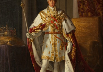Francis II in his coronation robes, by Leopold Kupelwieser