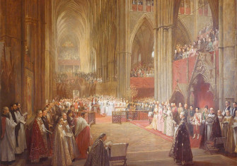 William Ewart Lockhart, Queen Victoria's Golden Jubilee Service, Westminster Abbey, 21 June 1887