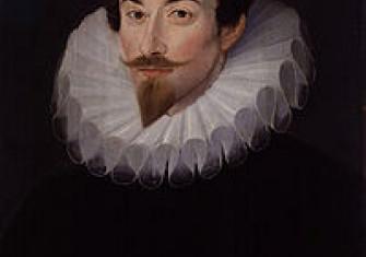Sir John Harington by Hieronimo Custodis, c. 1590–93