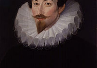 Sir John Harington by Hieronimo Custodis, c. 1590–93