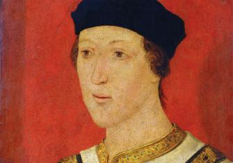Henry VI, c.1535  (detail), English.