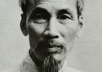 Portrait of Ho Chi Minh circa 1946.