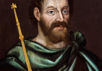 Portrait of King John by an unknown artist. c.1620.