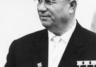 Khrushchev in East Berlin, 1963