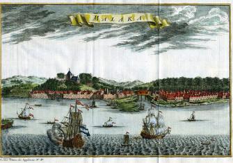 Dutch Malacca, c. 1750