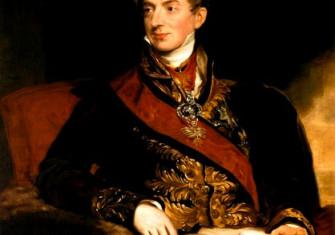 Austrian chancellor Clemens Wenzel von Metternich