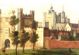 An early 17th century depiction of Nonsuch Palace.