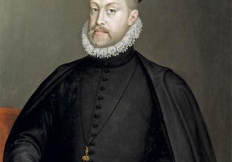 Portrait of Philip II of Spain by Sofonisba Anguissola