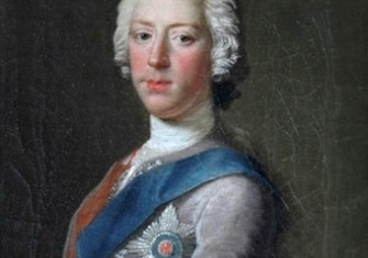 Portrait of Charles Edward Stuart by Allan Ramsay, 1745
