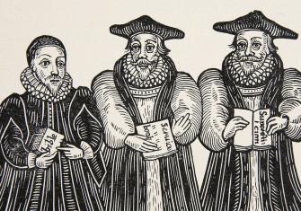 Triple Episcopacie, a puritan satire on Archbishop Laud, 1641.