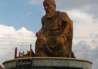 Statue of Rashid-al-Din Hamadani in Iran.