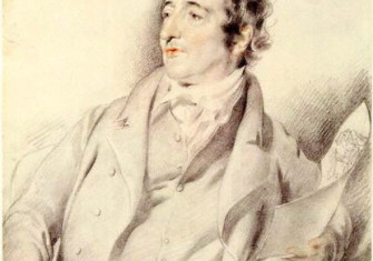 Pencil sketch portrait of Thomas Rowlandson by George Henry Harlow (d. 1819), currently in the National Portrait Gallery, London.