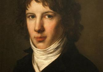 Saint-Just in a portrait by Pierre-Paul Prud'hon, 1793. Musée des Beaux-Arts, Lyon / Bridgeman Images