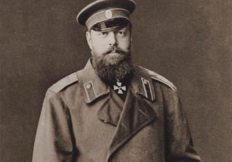 Tsar Alexander III of Russia. Photograph by Sergey Levitsky