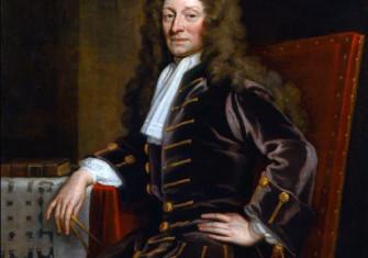 Christopher Wren, by Godfrey Kneller, 1711