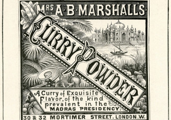 Advertisement for Marshall's curry powder, 1899.