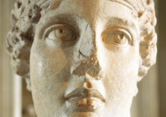 Bust of Sappho, second century AD.