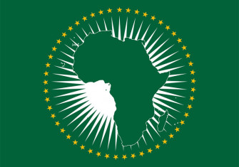 Flag of the African Union.