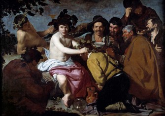 The Triumph of Bacchus (Dionysus), c.1628,  by Diego Velázquez © Photo Josse/Bridgeman Images.
