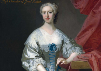 Jemima Campbell, Marchioness Grey (detail) by Allan Ramsay, 1741 © National Trust Photographic Library/Bridgeman Images.