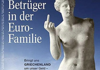 Cover of German magazine Focus, February 2010