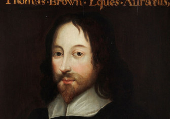 Image of Sir Thomas Browne, courtesy of the the Royal College of Physicians