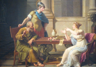 Travels Through Time The Debate Of Socrates And Aspasia