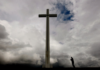 The Papal Cross in Phoenix Park, Dublin, Ireland